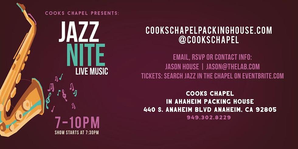 Jazz in the Chapel: Jamie Shew