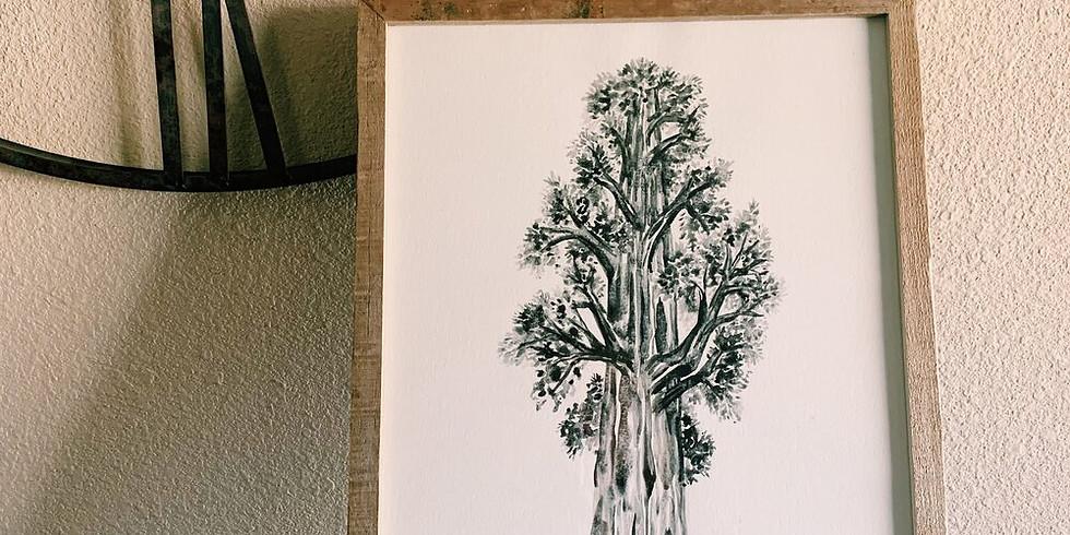 Sequoia Tree Paint & Wine Night at Pali