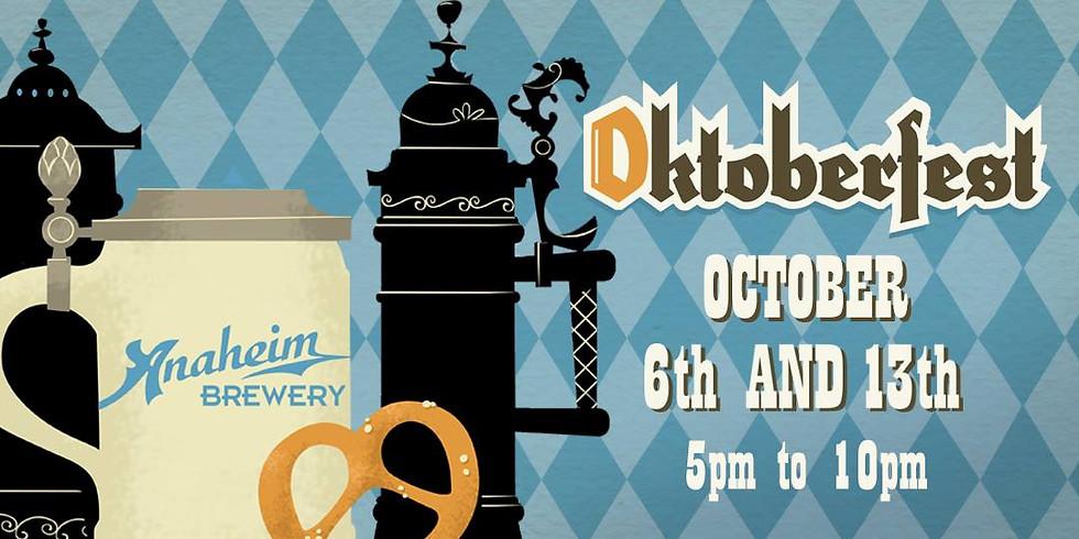 Anaheim Brewery presents Oktoberfest (Week 2)
