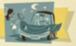 drive-in car and couple.png