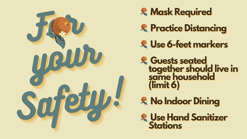 Mask Required Practice Distancing Guests