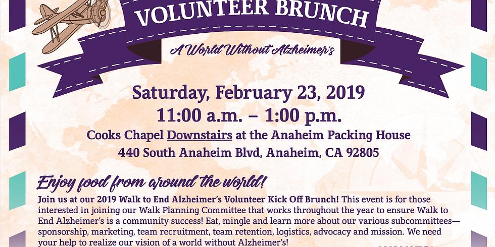 Alzheimer's Association Volunteer Brunch