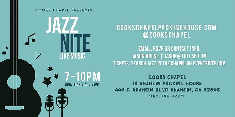 Jazz in the Chapel: Slide FX