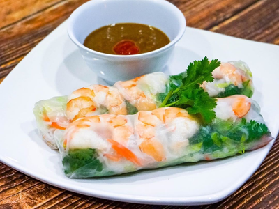 Pho Real Spring Rolls