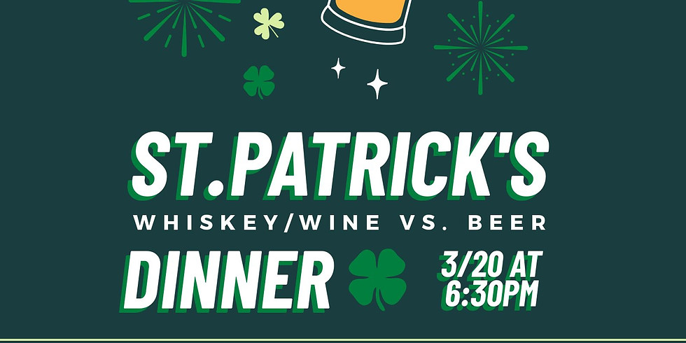 Canceled: St Patrick's Day Dinner at Cooks Chapel