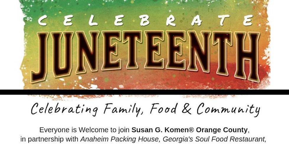 Susan G. Komen presents Juneteenth Celebration