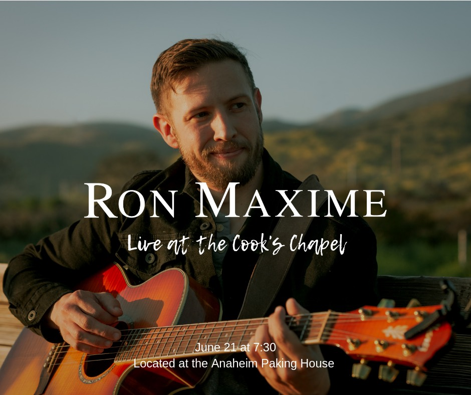 Live Music From: Ron Maxine at Cooks Chapel