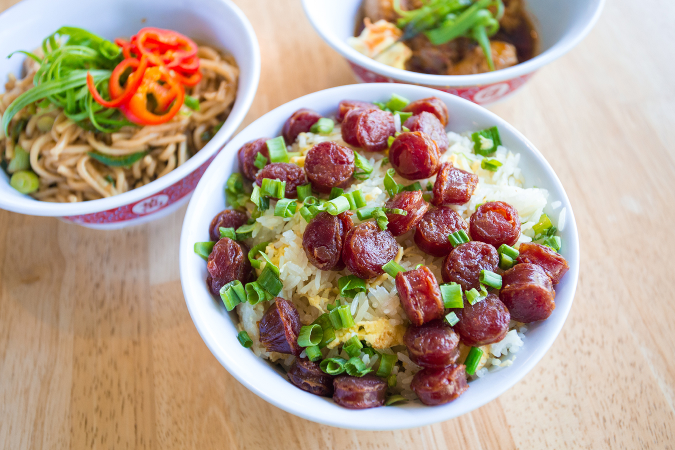 Chinese Sausage Fried Rice ($5 HH)