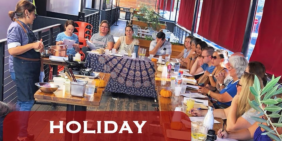 ADYA Cooking Class - SOLD OUT!