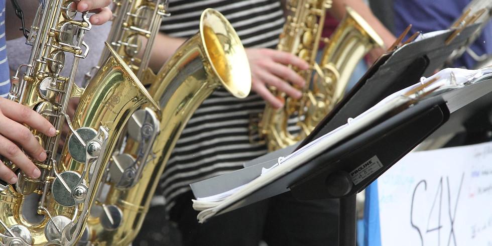 Live Music From: S4X (Saxophone Quartet)