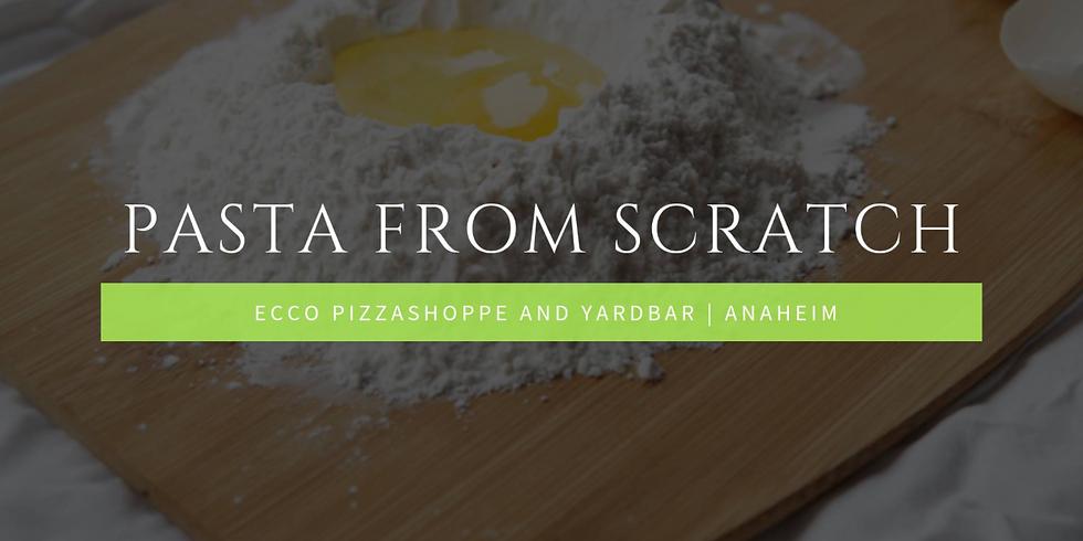 Ecco presents Pasta From Scratch Cooking School