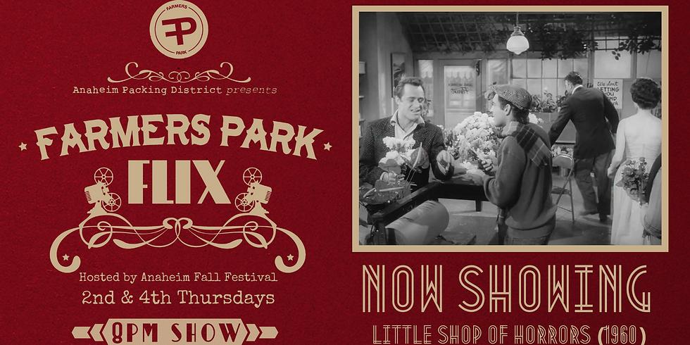 Farmers Park Flix - Hosted by Anaheim Fall Festival & Halloween Parade