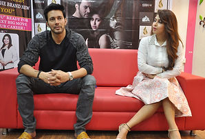 Bollywood film Saansein promotions with Rajnees Duggal