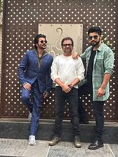 Mubarakan film promotion with Anil Kapoor, Arjun Kapoor and Anees Bazmi