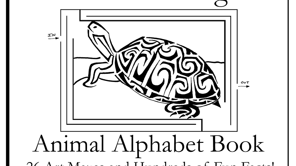 The Amazing Animal Alphabet Book 26 Art Mazes and Hundreds of Fun Facts!