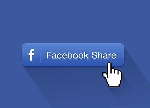 how to get a share button on your facebook page