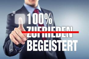 Zufriedene Kunden sind gefährlich, da kein Grund für eine Weiterempfehlung gegeben ist. Diese wird nur durch Kundenbegeisterung gewährleistet.