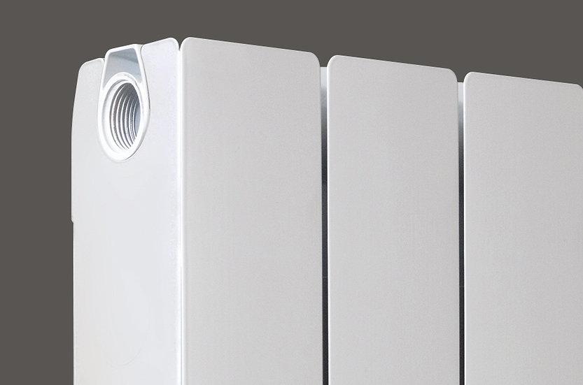 Decoral 97 Horizontal Aluminium Radiator end panel | Foundry