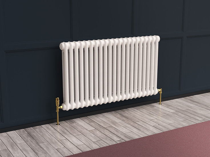 Multisec Steel 2 Column Radiator context | White | MHS