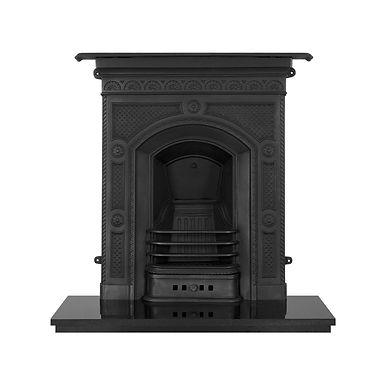Hawthorne Cast Iron Combination Fireplace | Black | Carron