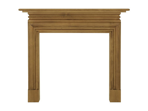 Wessex Wooden Fireplace Surround   Carron