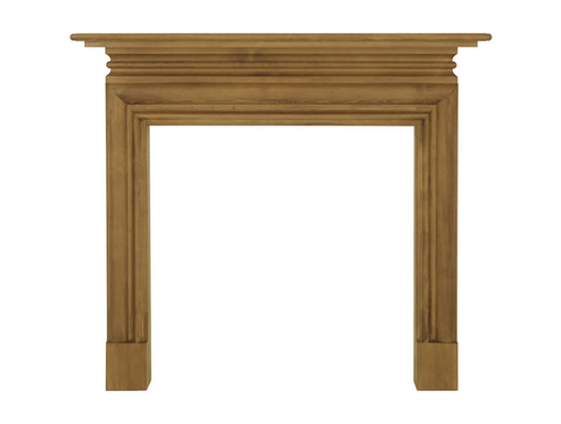 Wessex Wooden Fireplace Surround | Carron