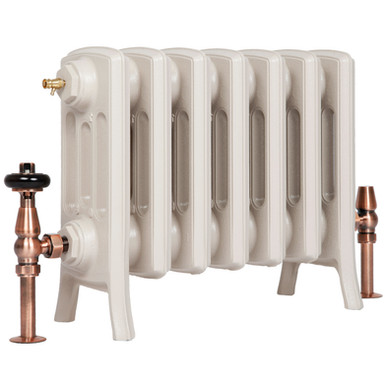 The Grace 4 Column 360mm Cast Iron Radiator | Castrads