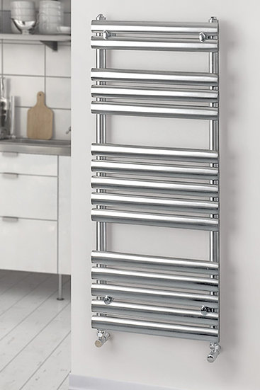 Oval Stainless Steel Towel Rail | Foundry