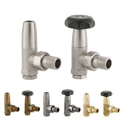 The Barnham UK12 Traditional Manual Valve Set | Angled | Arroll