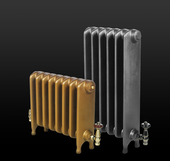 Paladin The Clarendon cast iron radiator heights