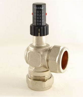 Evolve 22mm Central Heating Automatic Bypass Valve