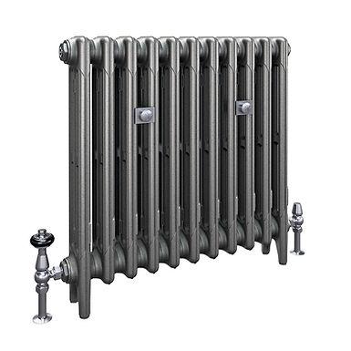 The Mercury 3 Column 660mm Cast Iron Radiator | Castrads