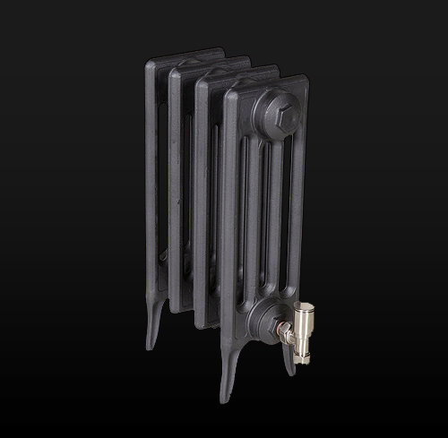 Paladin The Victoriana 460mm 4 Column cast iron radiator in primer