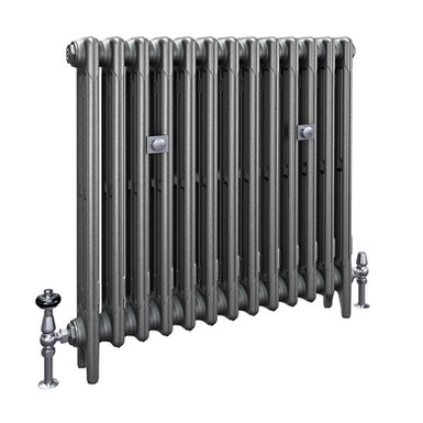 The Mercury 3 Column 760mm Cast Iron Radiator | Castrads