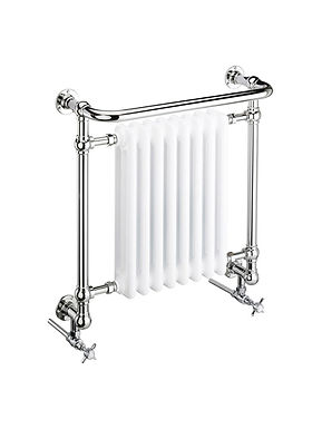 Clifton Wall Mounted Steel Towel Rail   Heritage