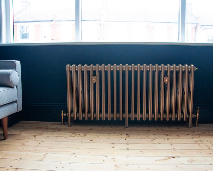 Arroll The Edwardian 4 Column cast iron radiator by foundry cast iron