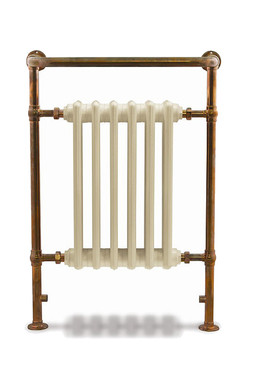 Broughton Steel Towel Rail in Copper | Carron