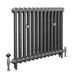 The Mercury 2 Column 760mm Cast Iron Radiator | Castrads