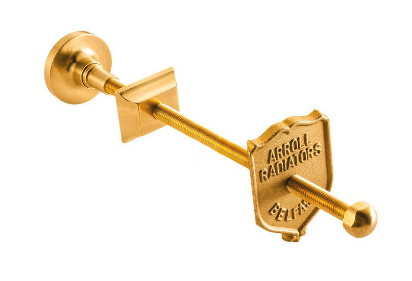 Luxury Brass Wall Stay | Arroll