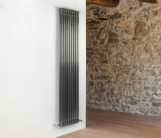 Multisec Steel 2 Column Radiator | Raw | MHS
