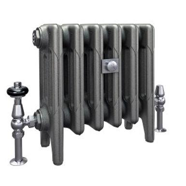 The Mercury 4 Column 360mm Cast Iron Radiator   Castrads