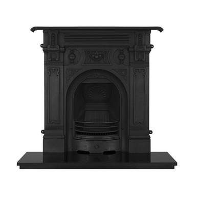 Victorian Large Cast Iron Combination Fireplace | Carron