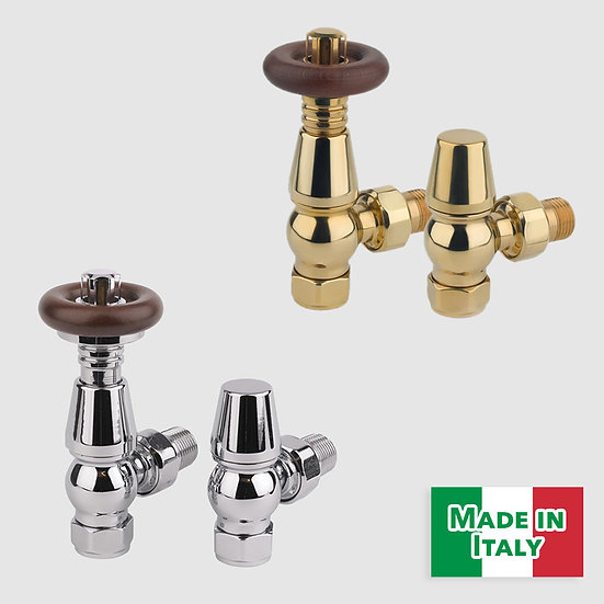 Kentwell Thermostatic Valve Set | Angled | Foundry