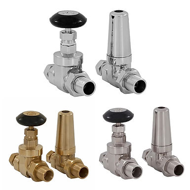 Whitworth 22mm Manual Valve Set | Straight | Carron