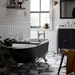 Essex Cast Iron Bath and Caversham Vanit