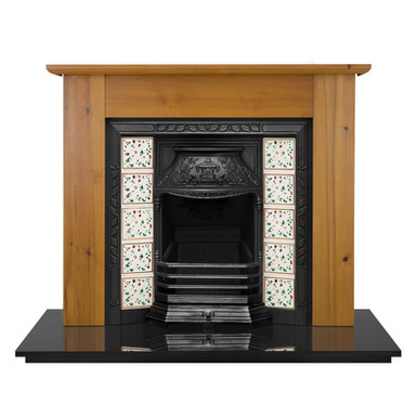 Laurel Cast Iron Fireplace Insert | Carron