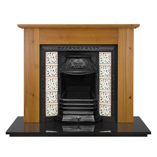 Laurel Cast Iron Fireplace Insert | Carron