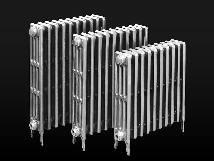 Paladin The Victoriana 4 Column cast iron radiator in polish