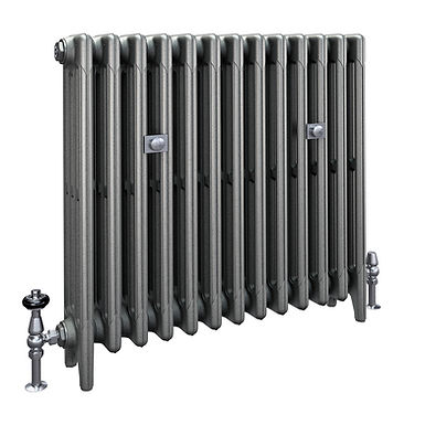 The Mercury 4 Column 760mm Cast Iron Radiator | Castrads