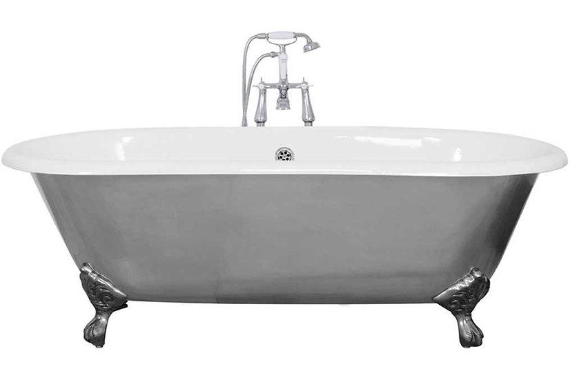 Jig Bisley Polished Cast Iron Bath   Foundry Cast Iron Radiators and Baths